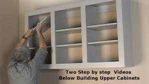 how to build base cabinets with kreg jig building wall storage cabinets