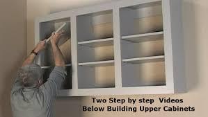diy kitchen cabinets kreg building wall storage cabinets