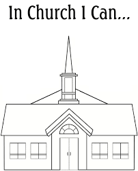 30 church coloring pages coloringstar