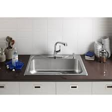 kohler elate kitchen faucet you ll never deal with a non spray with the kohler elate