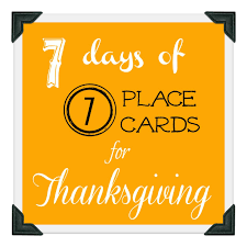 thanksgiving cards sayings day 4 leaf place cards organize and decorate everything