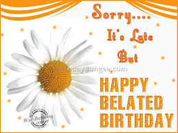 belated happy birthday wishes wallpapers jerzy decoration