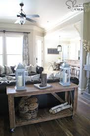build a console table easy diy console table