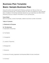 sample business plan for small business business plan cmerge