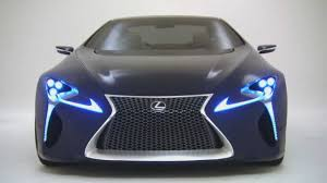 lexus lf lc tail lights blue lexus lf lc concept car youtube