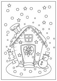 free printables of christmas coloring pages