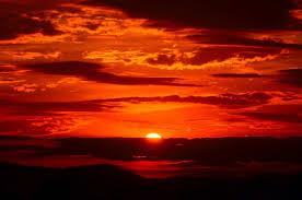 Red Awn Free Picture Sunrise Shadow Darkness Dark Red Dawn Sun