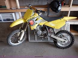 suzuki motocross bike 2002 suzuki srm dirt bike item bc9813 sold march 3 gove