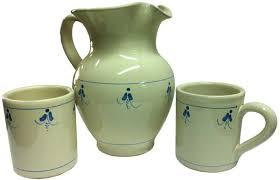 bicchieri in ceramica ceramica scuro
