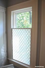 Diy Inspiration Window Treatments Forathroom Windows Simple - Simple kitchen curtains