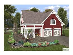 Carriage House Building Plans Carriage House Plans 1 Bedroom Garage Apartment 007g 0007 At