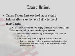 trw credit bureau the history of the credit bureaus who are the credit reporting