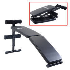 costway adjustable folding arc shaped sit up bench gym home