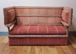 Knoll Settee A Late 19th Century Knoll Sofa C 1880 England From Wakelin