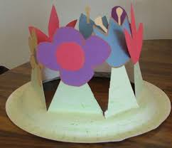 Easter Paper Decorations Make by Easter Spring Bonnet 5 Step How To Make A Spring Easter Bonnet