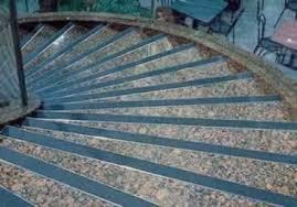 decorative metal stair nosing by vigil