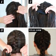 show pix of braid reverse french braid hair how to braid tutorials