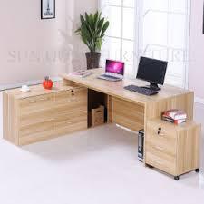 bureau en bois moderne bureau moderne en bois bureau exécutif utilisée ordinateur de