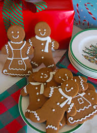 gingerbread cookies from the solvang bakery solvang california