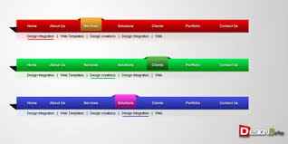 website menu design 72 free psd web design elements psd files