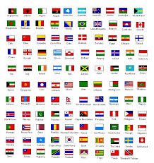 25 unique country flags and names ideas on whens