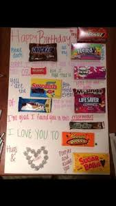 candy for birthdays image result for candy bar posters for birthday gifts