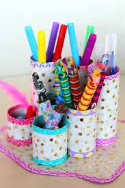 Pen Organizer by Diy Toilet Paper Rolls Organizer