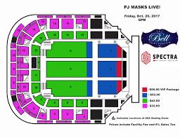United Center Seating Map Augusta Entertainment Complex James Brown Arena Bell Auditorium