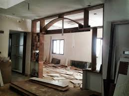 one moms world house work living room arch partition