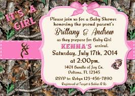 pink camo baby shower invitations pink camo baby shower