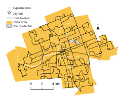 Mapping America Every City Every Block by Mapping The Evolution Of U0027food Deserts U0027 In A Canadian City