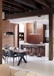 modern industrial kitchens old fire station turned into dashing modern industrial loft in