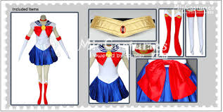 Sailor Moon Halloween Costume Sailor Moon Tsukino Usagi Cosplay Costume Sale Miccostumes