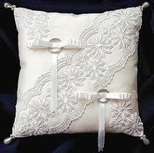 wedding pillows wedding pillow wedding cushion lace pillow ivory satin and beaded