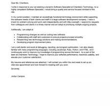 best technical support cover letter examples livecareer computers
