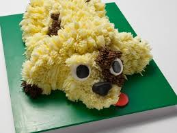 dog cake 3 d dog cake recipe food network