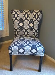 Diy Dining Chair Slipcovers Diy Dining Chair Slipcovers Diy Recover A Parsons Style Chair