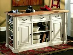 furniture teak movable kitchen island with 2 tier for inspiring