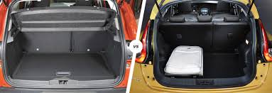 nissan tiida trunk space renault captur vs nissan juke crossover clash carwow