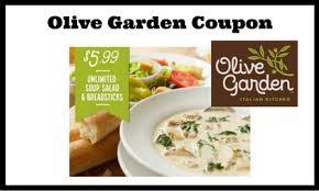 Olive Garden 5 99 For Unlimited Soup Salad - olive garden coupon 5 99 unlimited soup salad lunch combo ftm