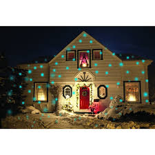 Laser Projector Christmas Lights by Light Flurries Snowflake Projector Tundra Colors Accessory