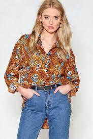 paisley blouse chiquitita paisley shirt shop clothes at gal