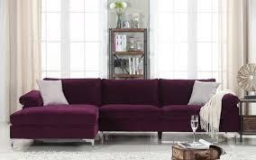 Velvet Sectional Sofa Amanda Modern Velvet Large Sectional Sofa Cheap Furniture Large