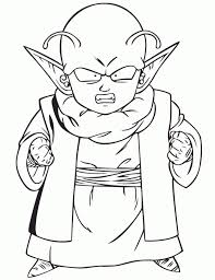 free dragon ball coloring pages 44291