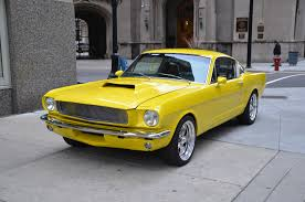1965 yellow mustang 1965 ford mustang stock r228ab for sale near chicago il il