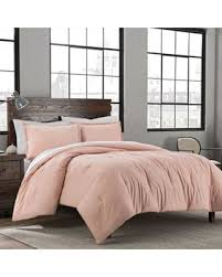 Wash Comforter In Washing Machine Huge Deal On Garment Washed Solid Twin Twin Xl Comforter Set In Blush