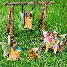 garden wishing well kit miniature figurine statue lawn yard