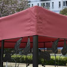 Patio Canopies And Gazebos by 10 U0027 X 10 U0027 1 Tier Or 2 Tier 3 Colors Patio Canopy Top Replacement