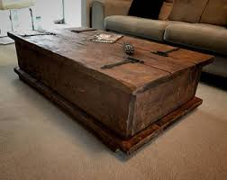 Rustic Chest Coffee Table Benches U0026 Trunks Etsy Uk