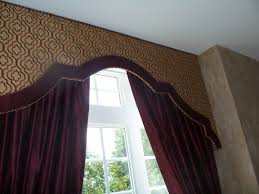 banded upholstered cornice designs google search cornices